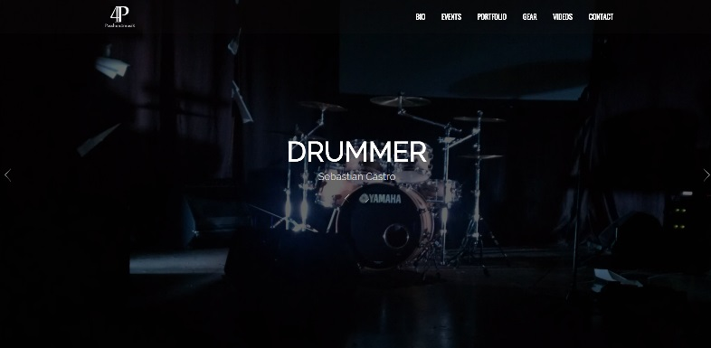 castrodrums home page image